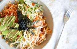 Poke bowl by chef Summer Le at the Shaka pop-up at Federal Galley.