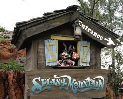 """The character Brer Rabbit, from the movie, """"Song of the South,"""" is depicted near the entrance to the Splash Mountain ride in the Magic Kingdom at Walt Disney World in Lake Buena Vista, Fla."""