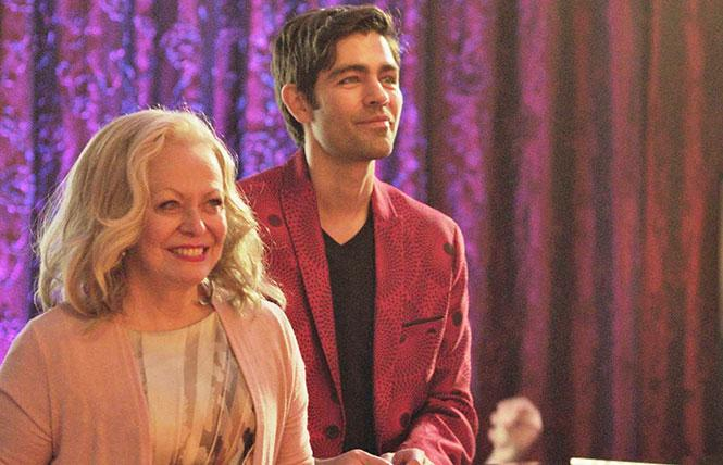 Jacki Weaver and Adrian Grenier in 'Stage Mother'