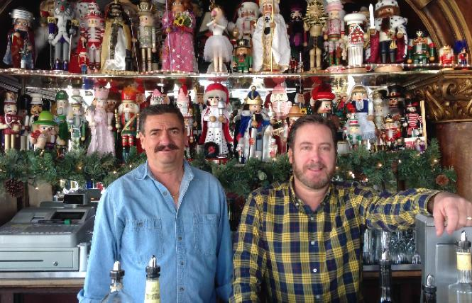 Twin Peaks Tavern co-owners George Roehm and Jeff Green in Dec. 2014