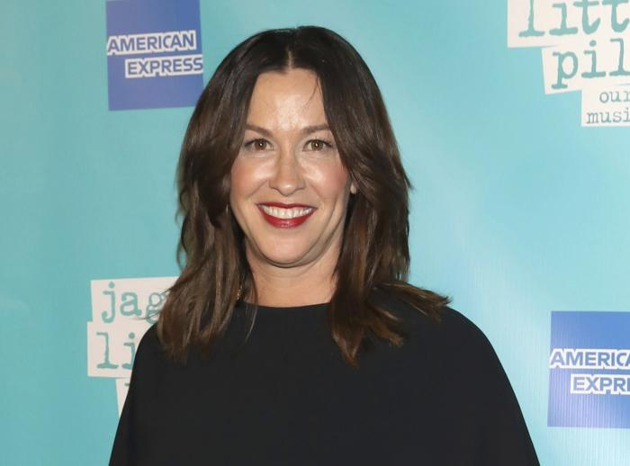 """Alanis Morissette attends the """"Jagged Little Pill"""" Broadway opening night in New York on Dec. 5, 2019."""